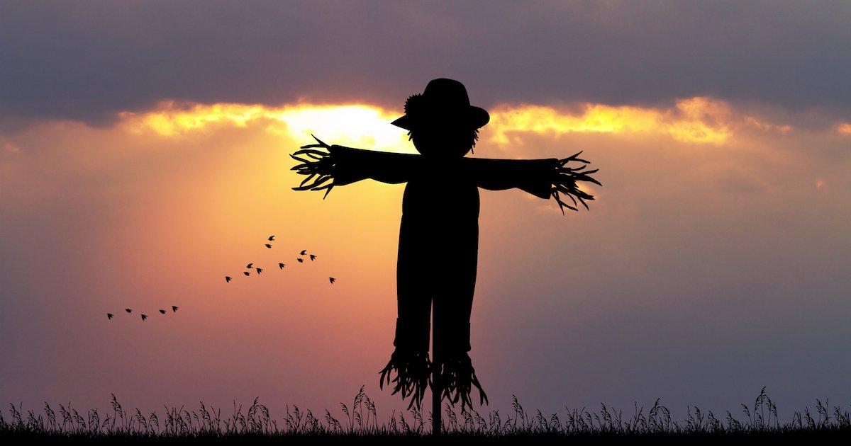 Autumn Equinox Scarecrow